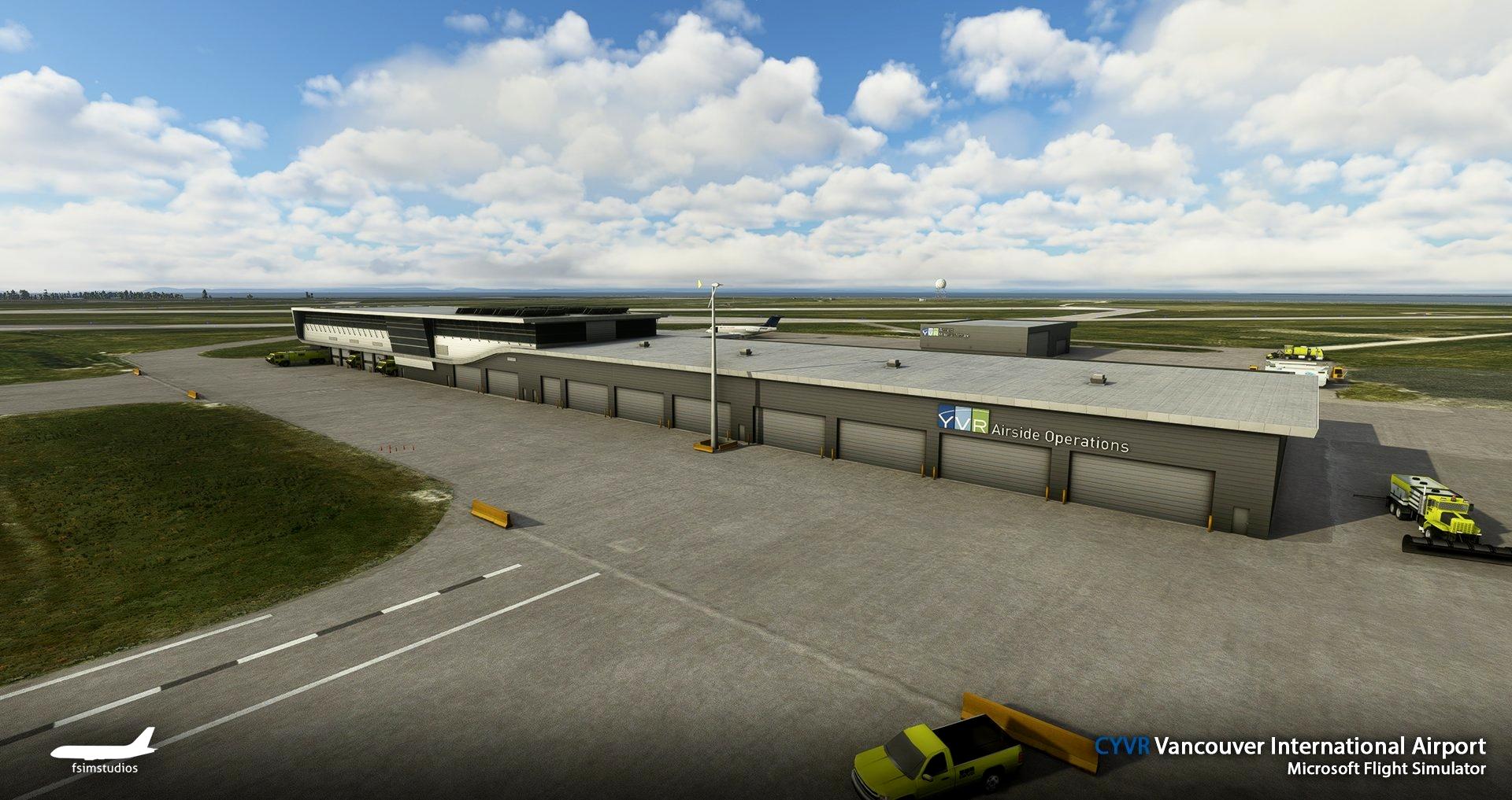 CYVR Vancouver International Airport