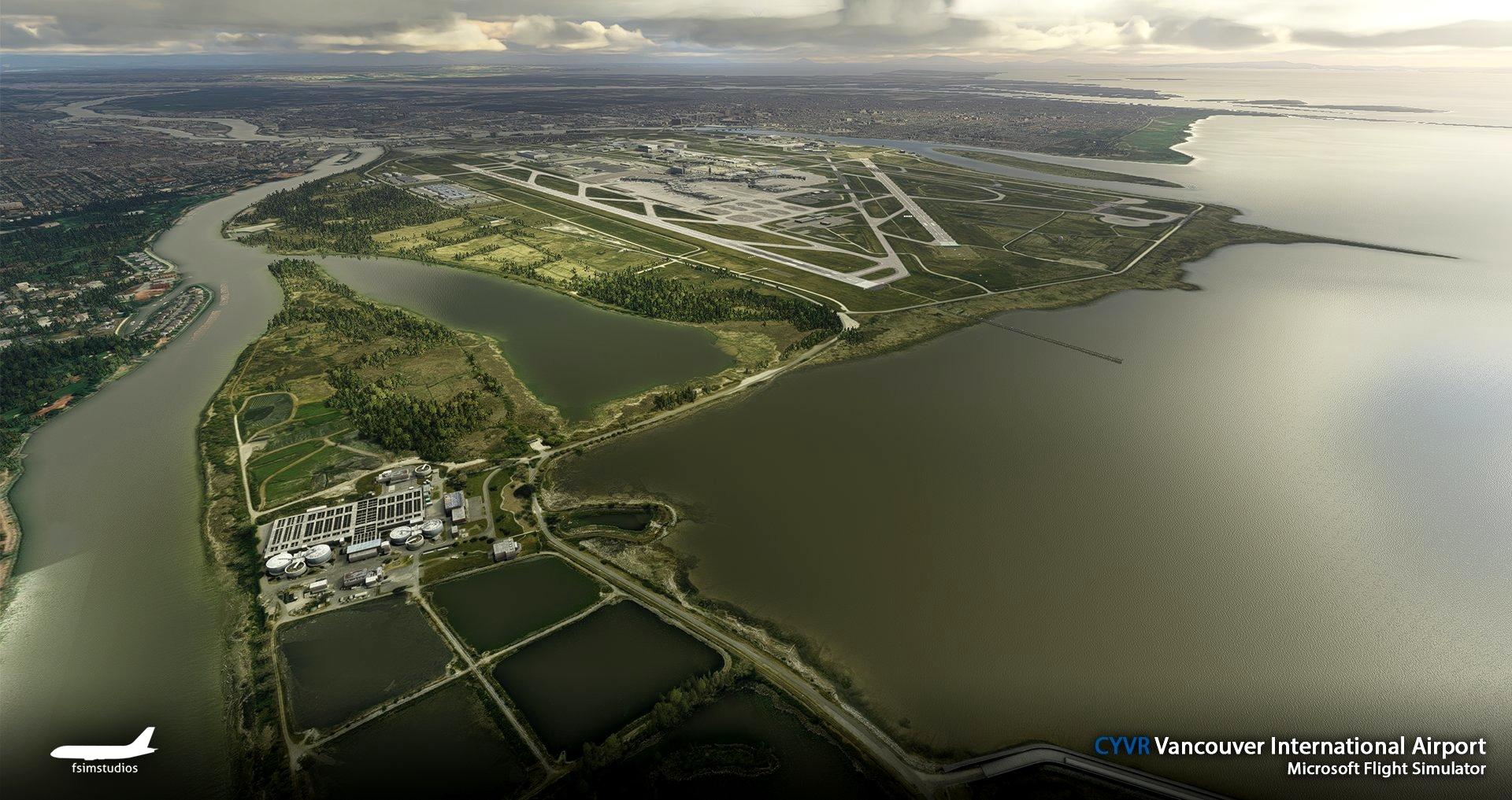 CYVR Vancouver International Airport Microsoft Flight Simulator