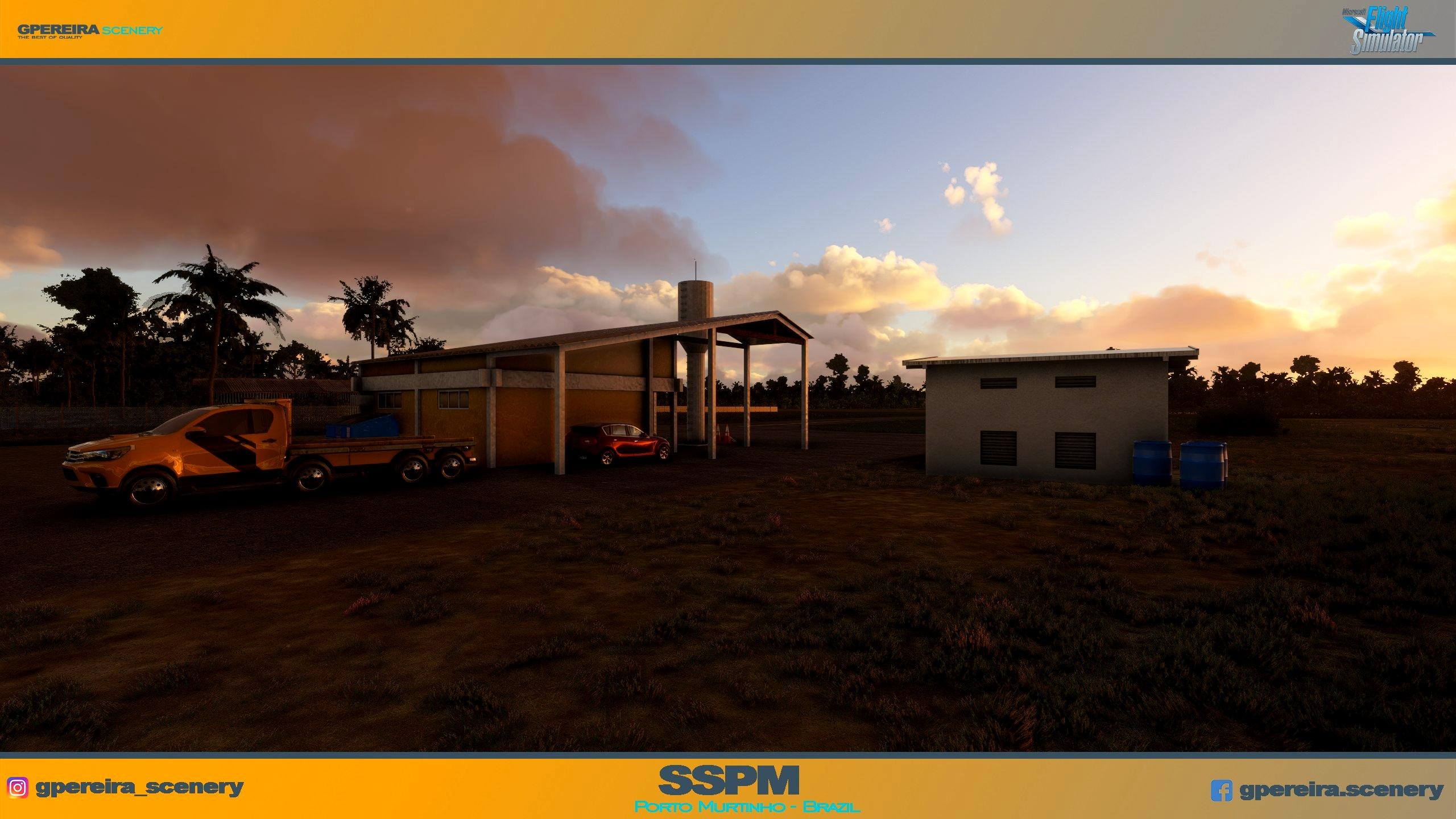 GPEREIRA SCENERY - PORTO MURTINHO - SSPM - BRAZIL - MSFS