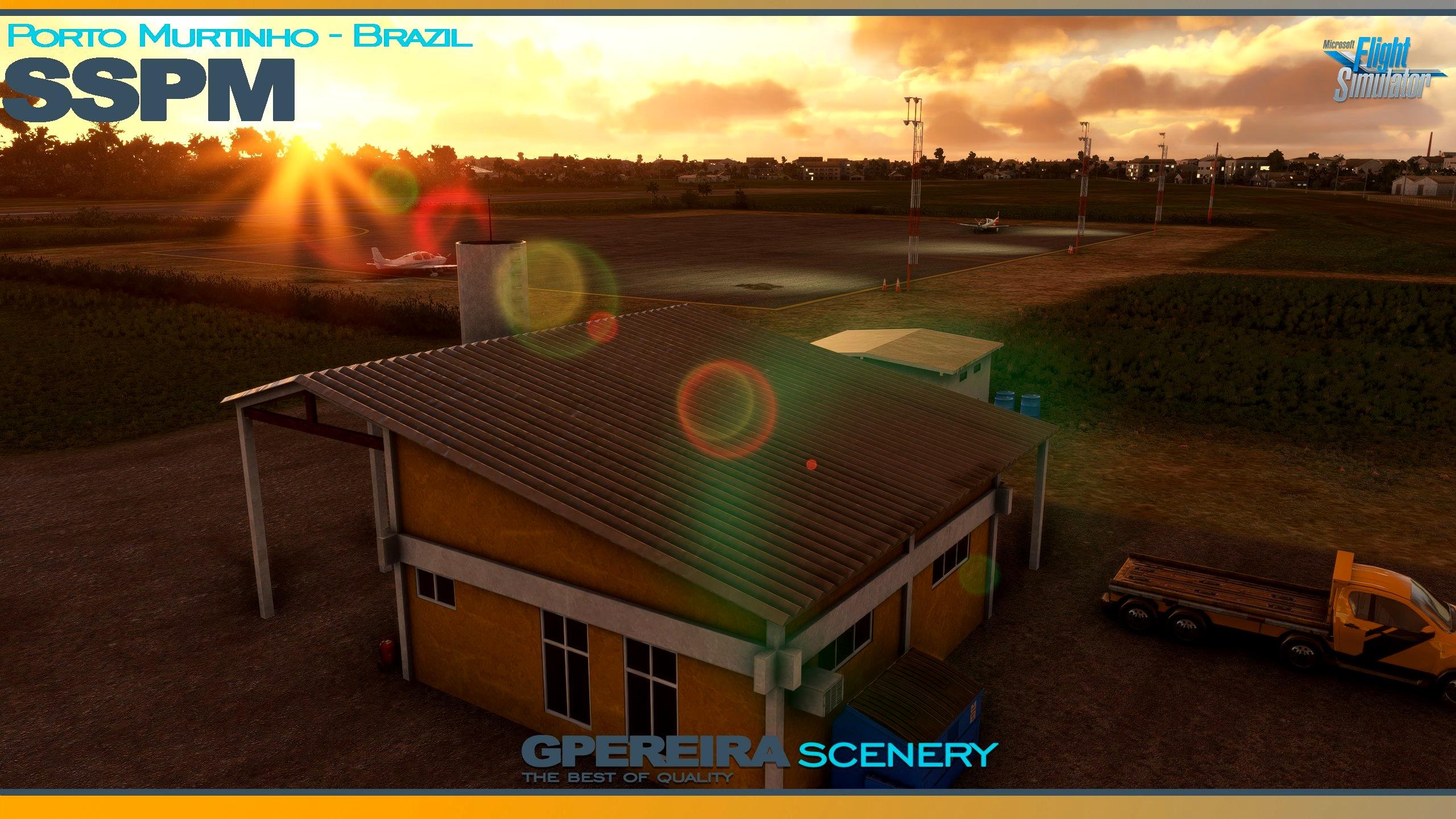 GPEREIRA SCENERY - PORTO MURTINHO - SSPM - BRAZIL - MSFS Microsoft Flight Simulator