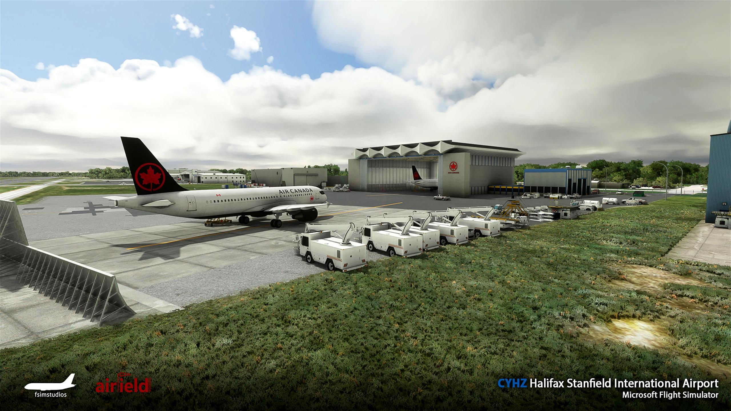 Halifax Stanfield International Airport CYHZ