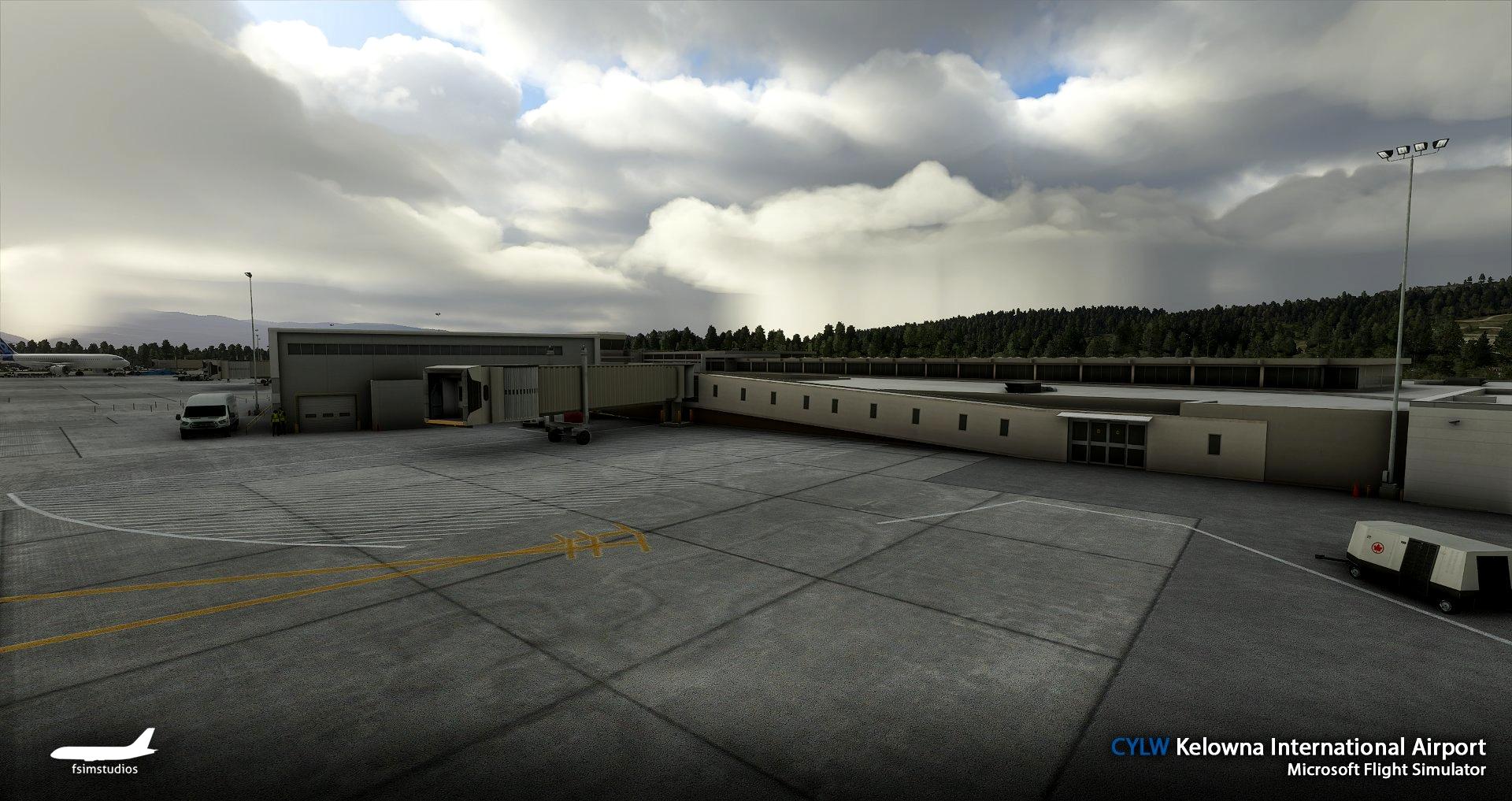 Kelowna International Airport CYLW