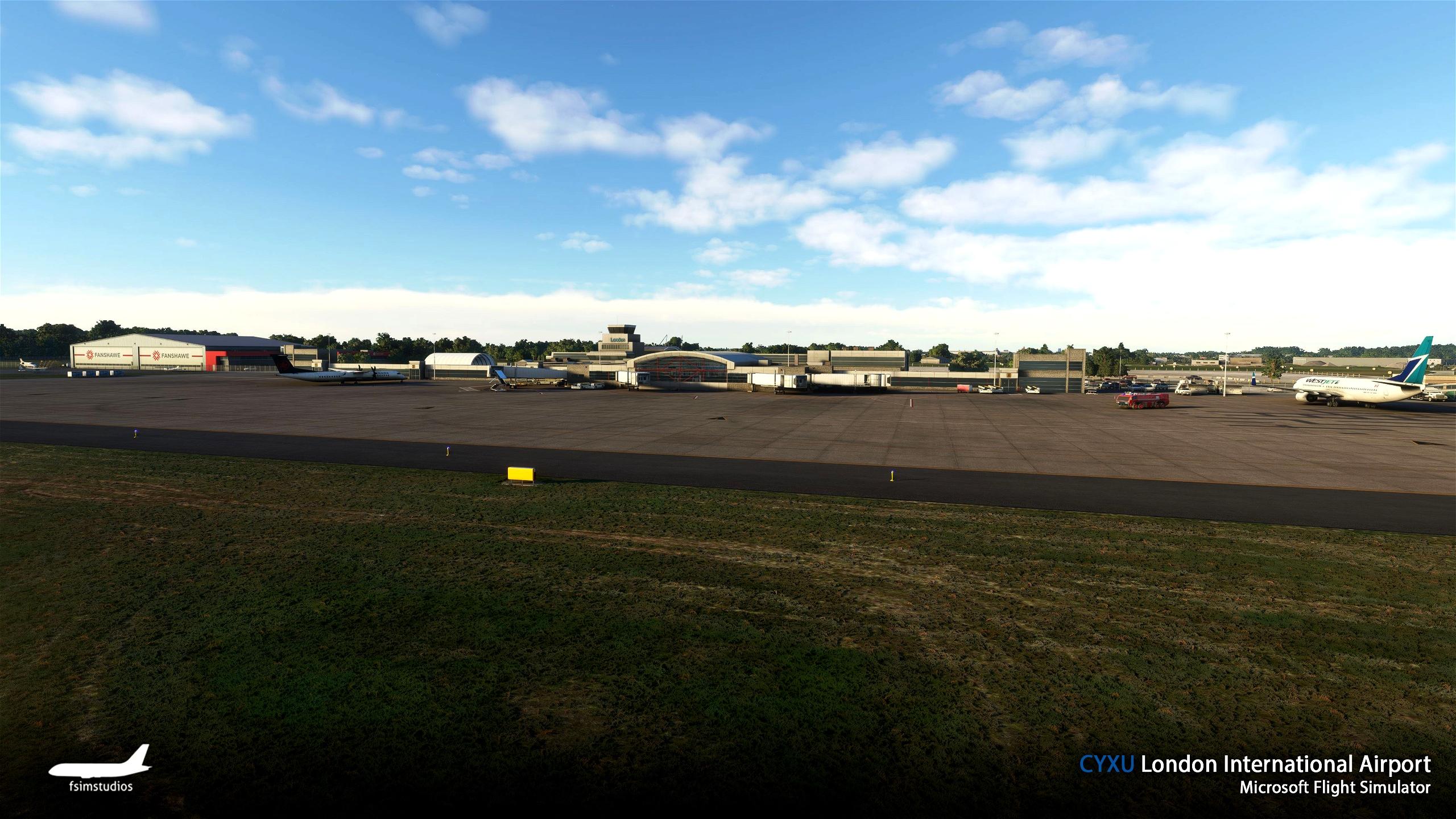 London International Airport CYXU  Microsoft Flight Simulator