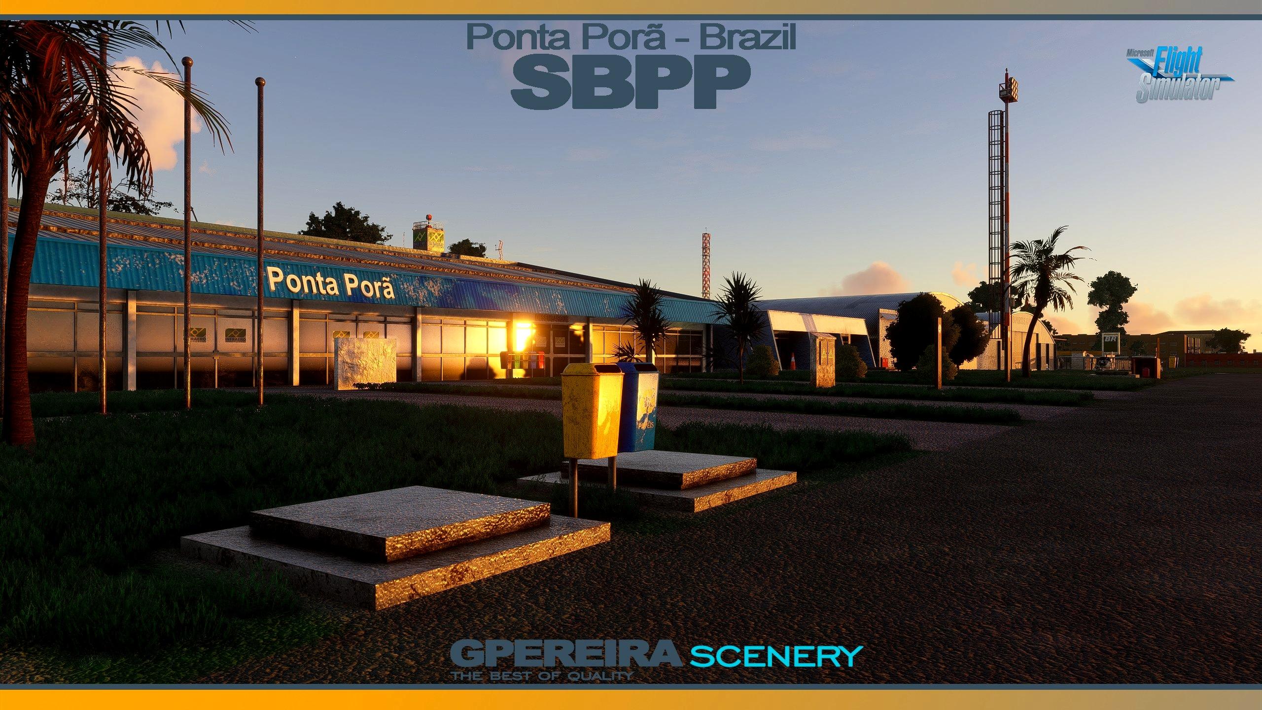 GPEREIRA SCENERY - PONTA PORÃ INTERNATIONAL - SBPP - BRAZIL MSFS Microsoft Flight Simulator