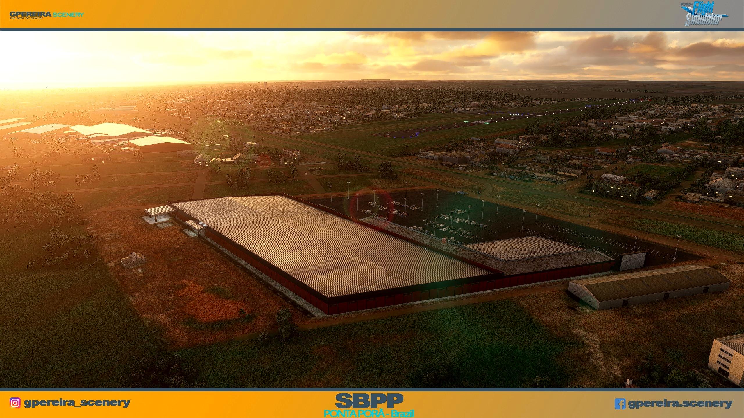 GPEREIRA SCENERY - PONTA PORÃ INTERNATIONAL - SBPP - BRAZIL MSFS