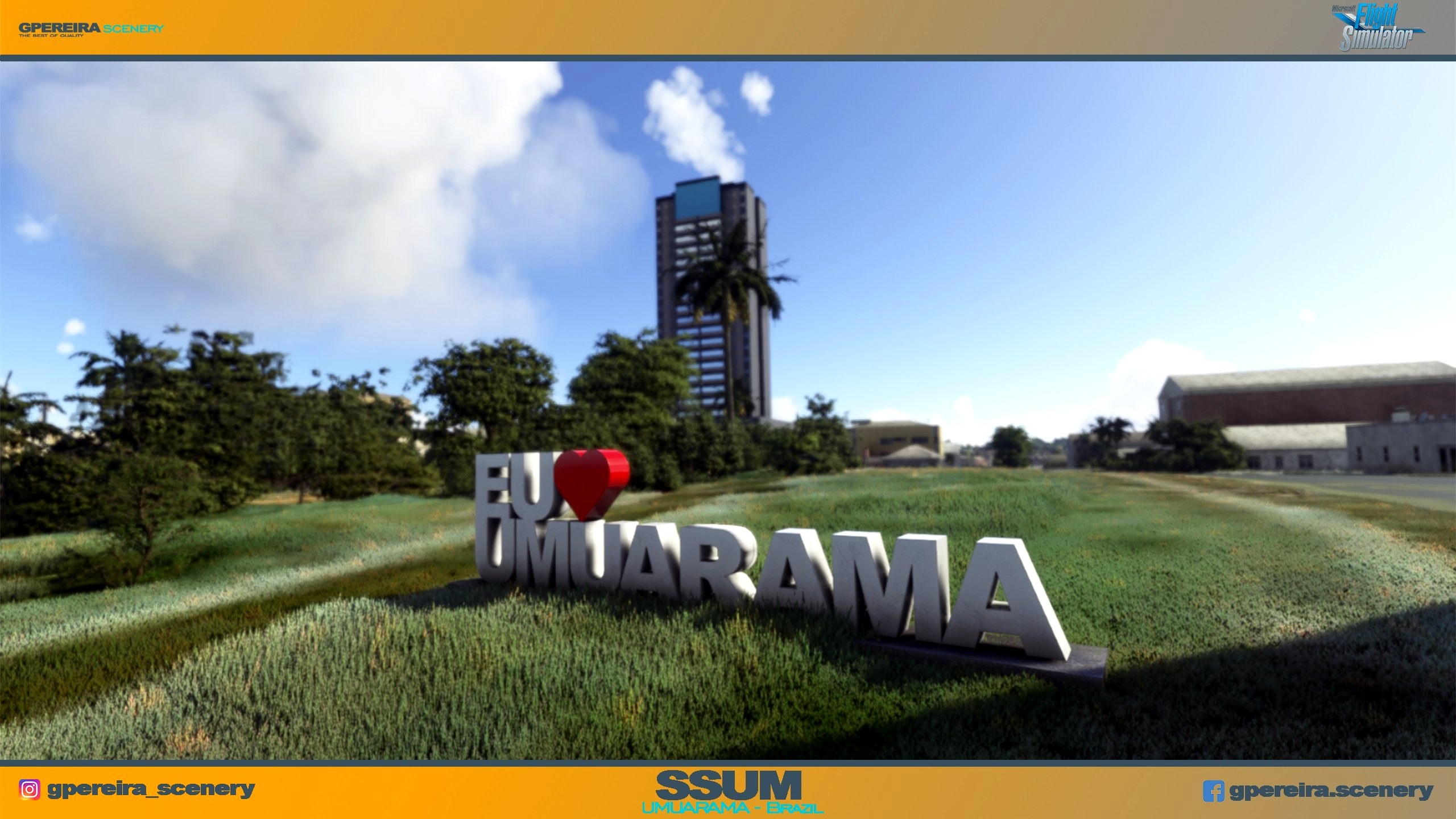 GPEREIRA SCENERY - UMUARAMA - SSUM - BRAZIL - MSFS