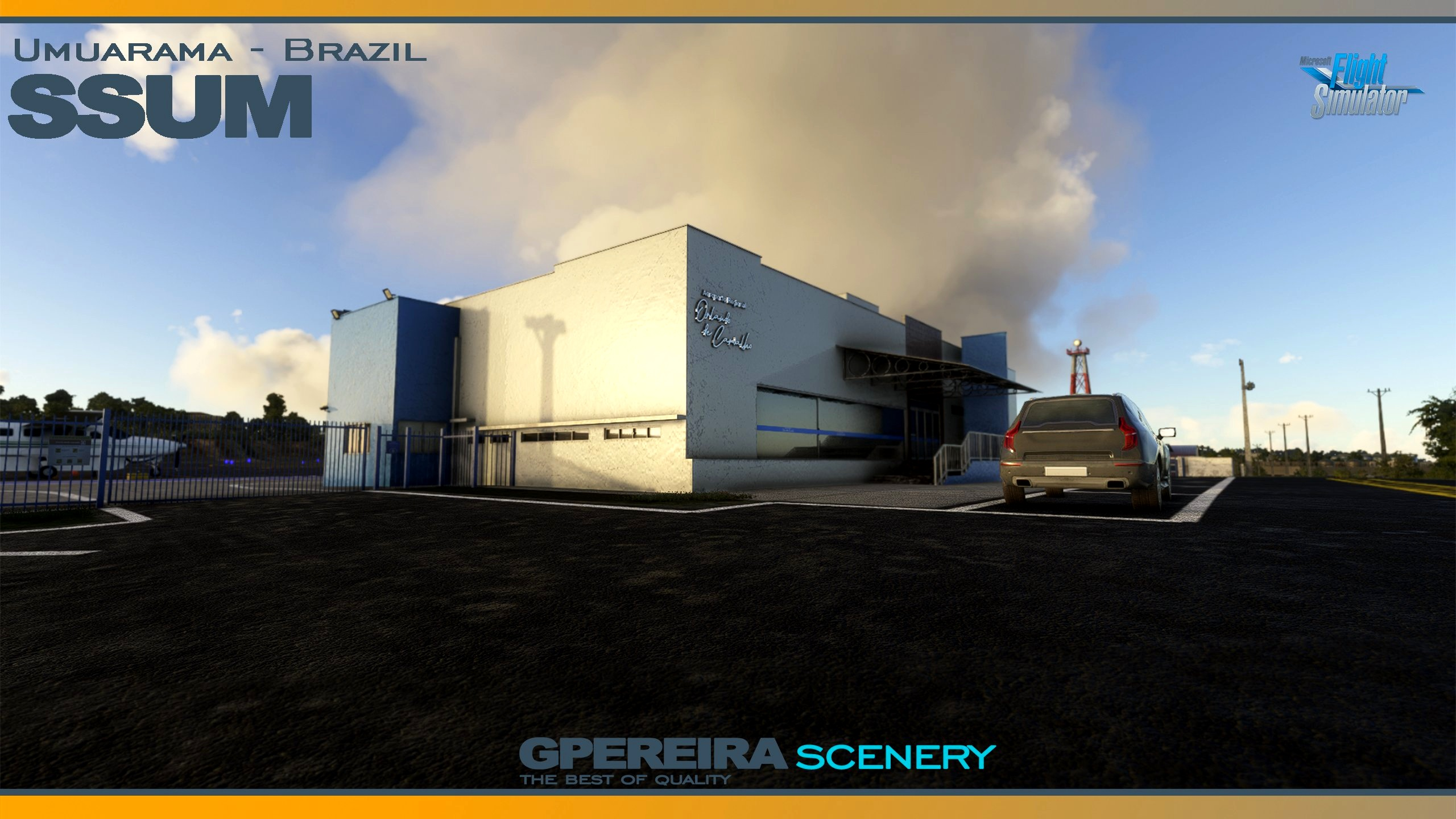 GPEREIRA SCENERY - UMUARAMA - SSUM - BRAZIL - MSFS Microsoft Flight Simulator