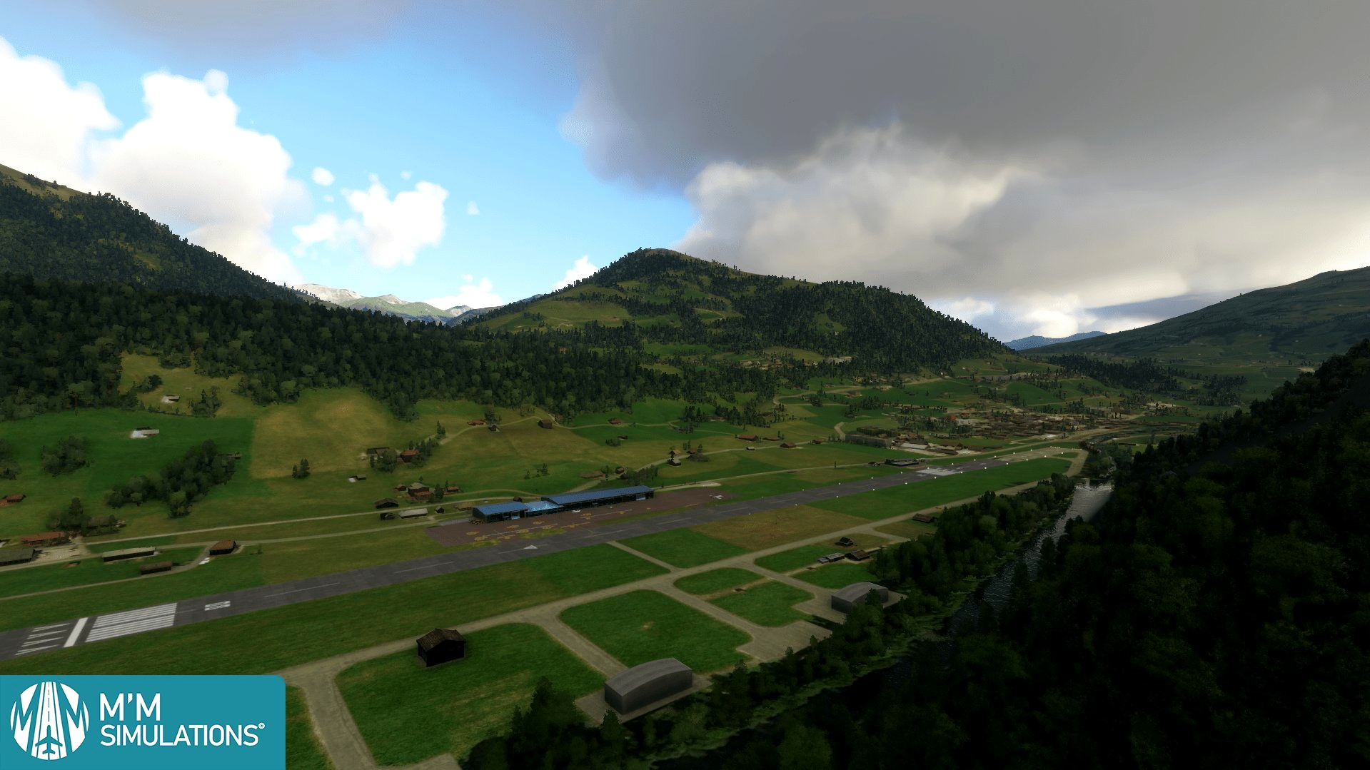 LSGK Gstaad-Saanen Airport