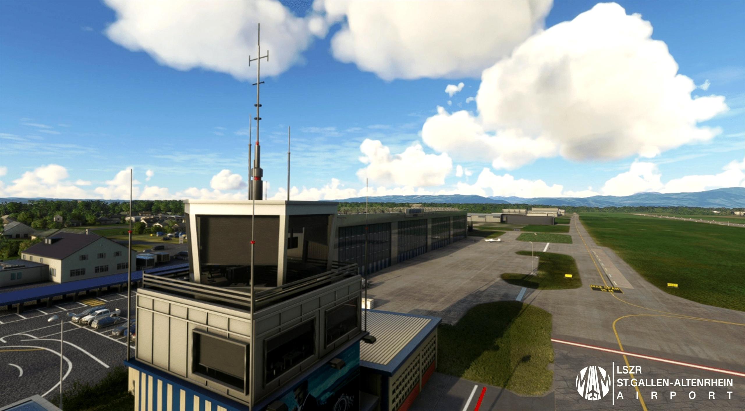 LSZR St.Gallen-Altenrhein Airport Microsoft Flight Simulator