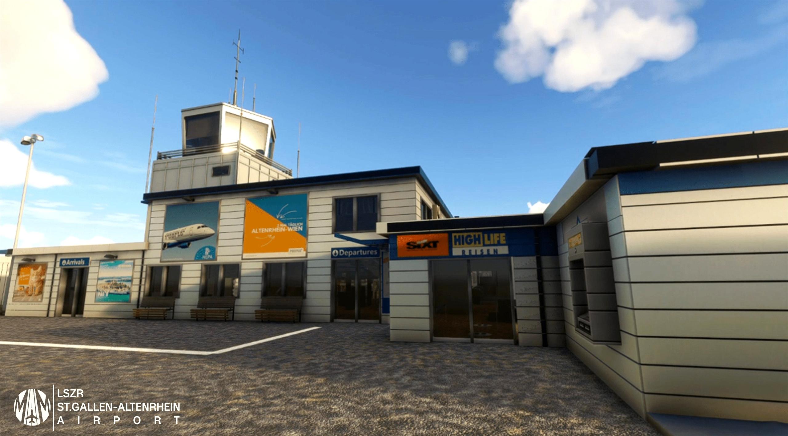 LSZR St.Gallen-Altenrhein Airport