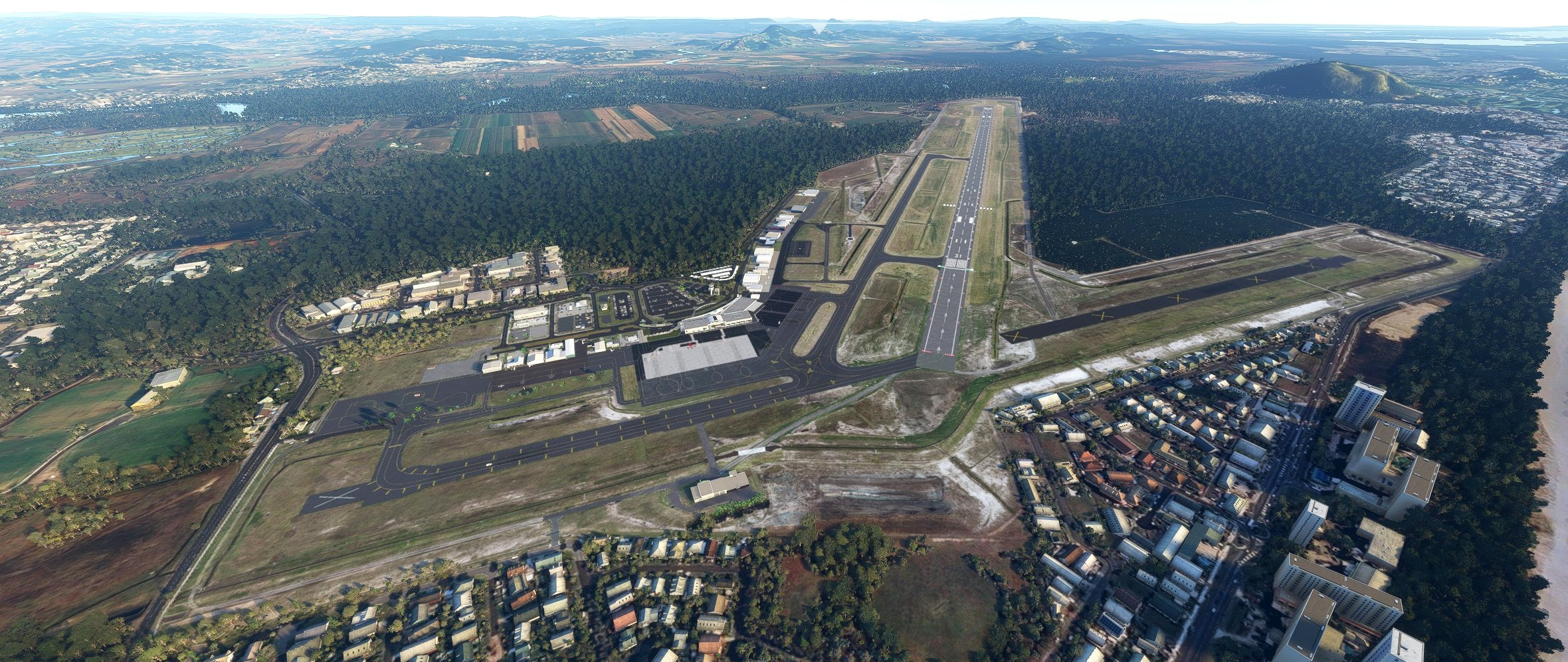 YBSU - Sunshine Coast Airport Microsoft Flight Simulator